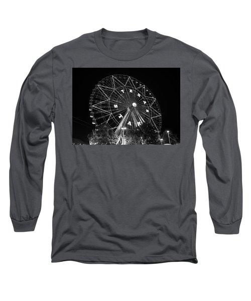 Texas Star 061116 V2bw Long Sleeve T-Shirt