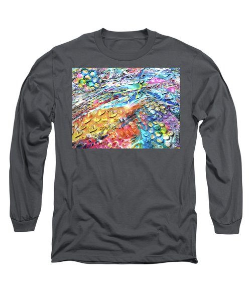 Textured Color Play 2 Long Sleeve T-Shirt