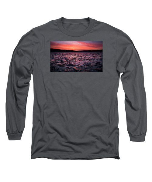 Textured Ice Long Sleeve T-Shirt