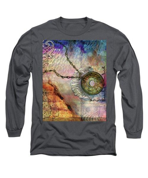 Textured Past Long Sleeve T-Shirt