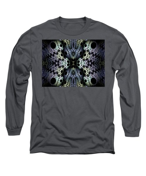 Long Sleeve T-Shirt featuring the digital art Texturized  by Lea Wiggins