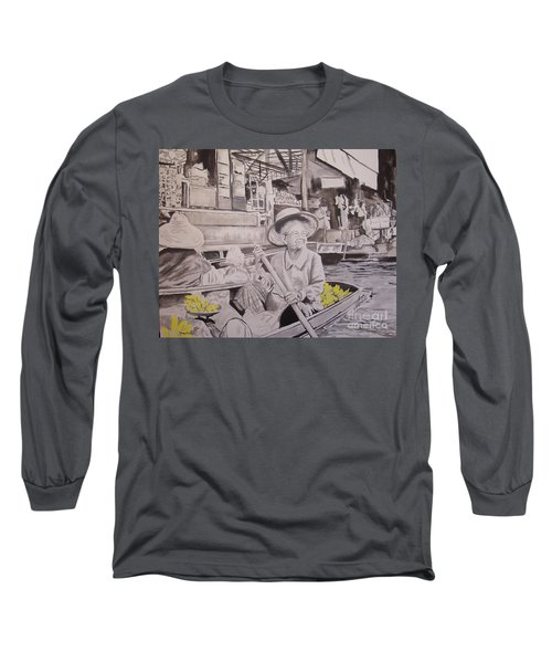 Thai Sunshine Long Sleeve T-Shirt by Stuart Engel