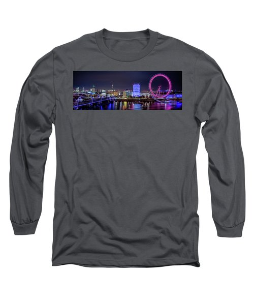 Thames Panorama Long Sleeve T-Shirt
