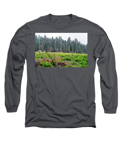Long Sleeve T-Shirt featuring the photograph Tharps Log Meadow by Kyle Hanson
