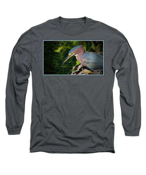 That Was Tasty Long Sleeve T-Shirt by Pamela Blizzard