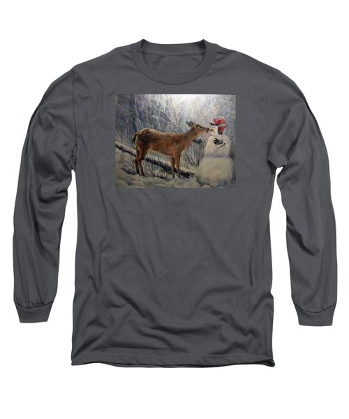 That'll Be Mine Long Sleeve T-Shirt by Donna Tucker