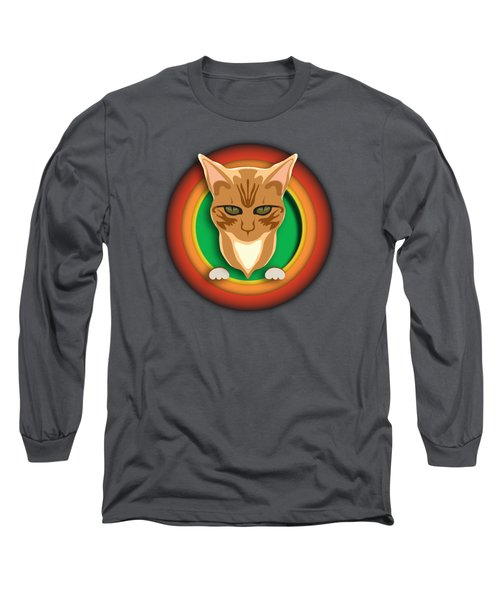 That's All Kitty Long Sleeve T-Shirt by Stan  Magnan