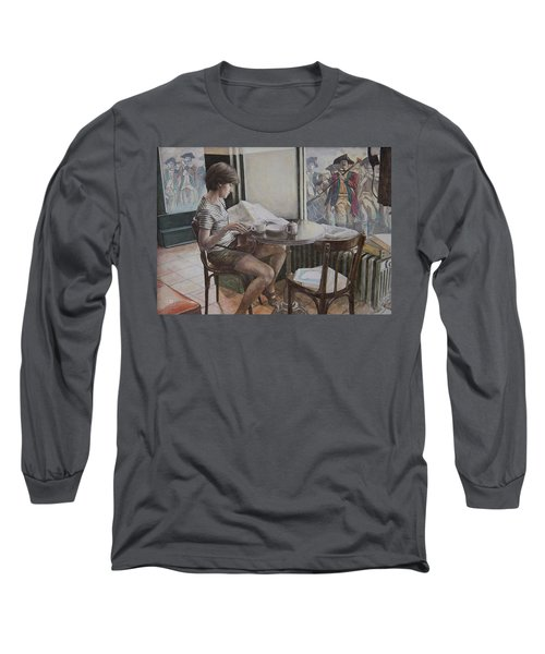 The 4th Of July Long Sleeve T-Shirt by Yvonne Wright