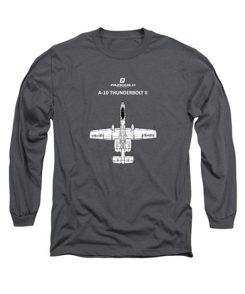 The A-10 Thunderbolt Long Sleeve T-Shirt