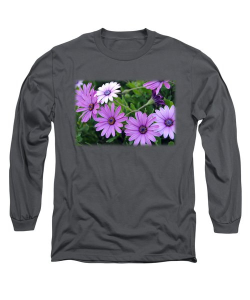 The African Daisy T-shirt 4 Long Sleeve T-Shirt by Isam Awad