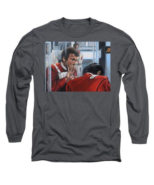 The Agony Of Loss Long Sleeve T-Shirt