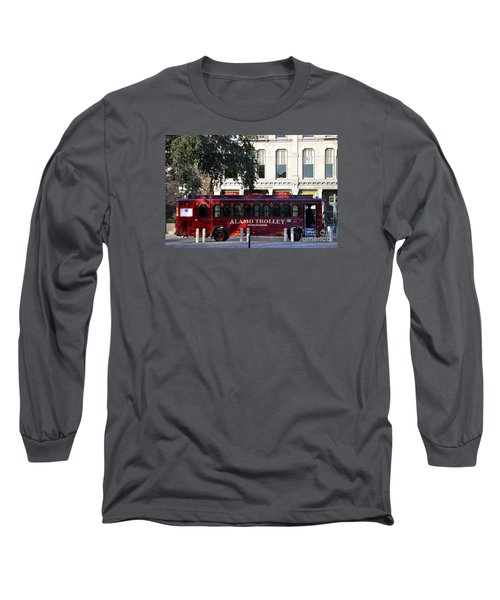 The Alamo Trolley Long Sleeve T-Shirt