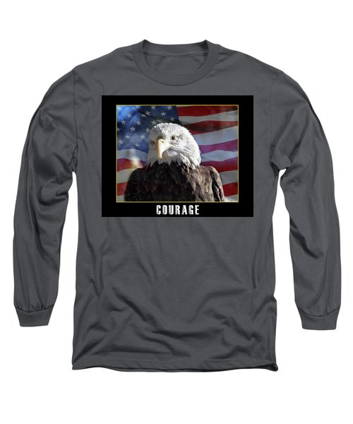 The American Bald Eagle Long Sleeve T-Shirt