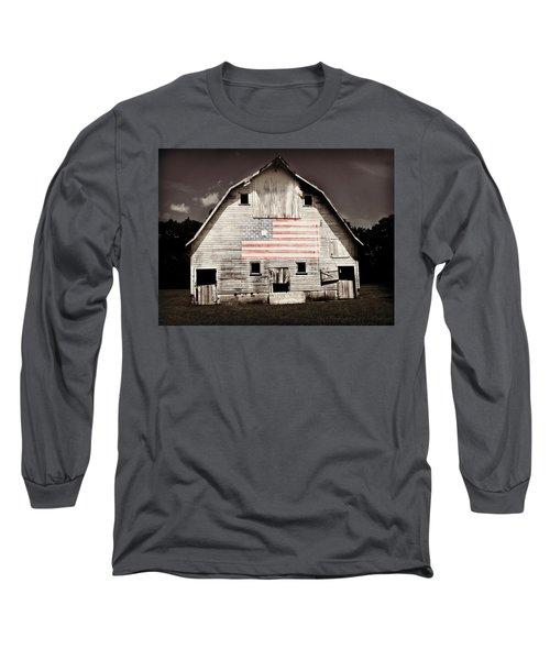 The American Farm Long Sleeve T-Shirt