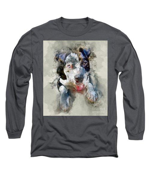 The American Pitbull Long Sleeve T-Shirt