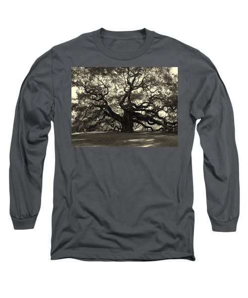 The Angel Oak Long Sleeve T-Shirt