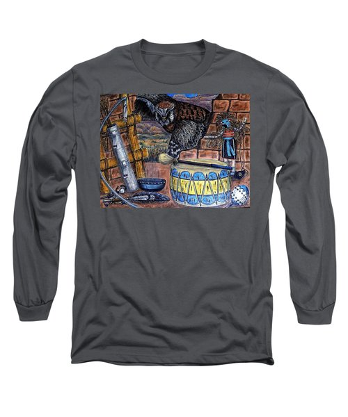 The Answer Comes Long Sleeve T-Shirt by Kim Jones