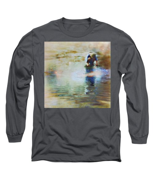 The Artist As A Boy Long Sleeve T-Shirt