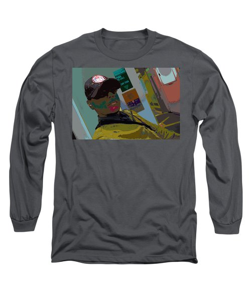 the artist - MARINE CORPORAL kenneth james Long Sleeve T-Shirt