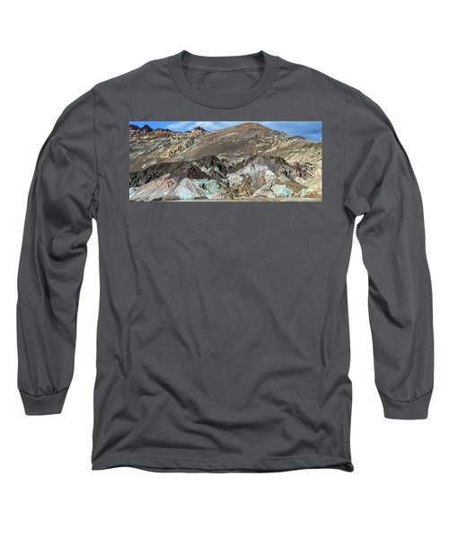 The Artists Palette Death Valley National Park Long Sleeve T-Shirt