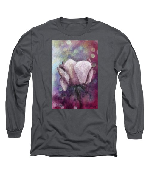 Long Sleeve T-Shirt featuring the painting The Award by Annette Berglund
