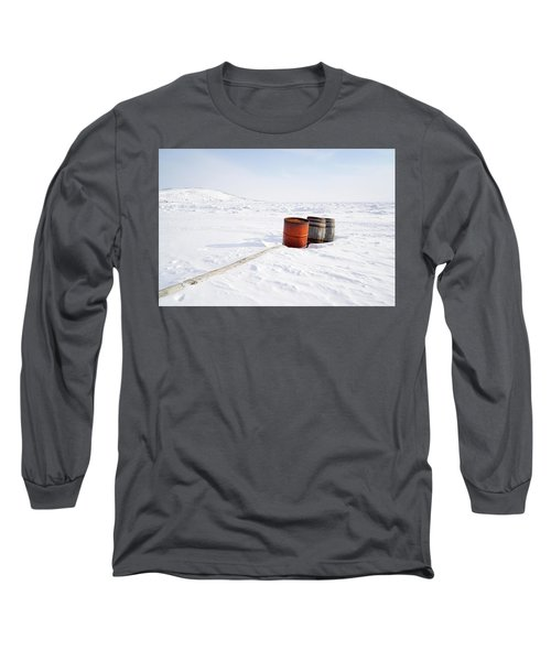 The Barrels Long Sleeve T-Shirt by Nick Mares