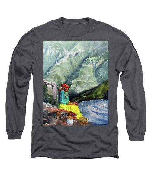 The Basket Maker  Long Sleeve T-Shirt