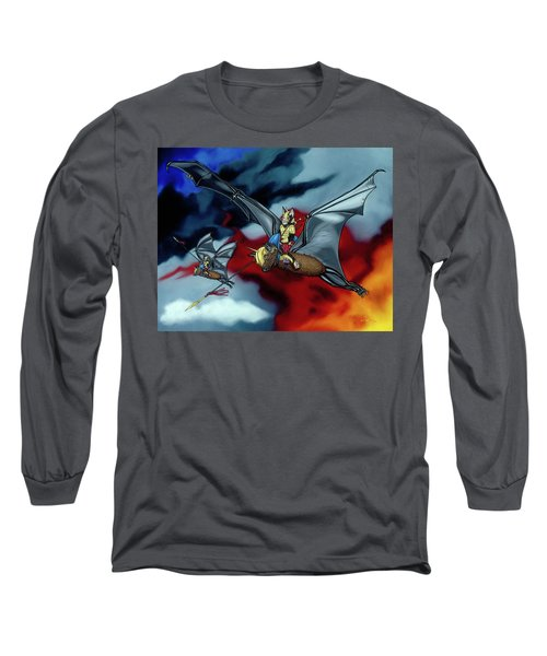 The Bat Riders Long Sleeve T-Shirt