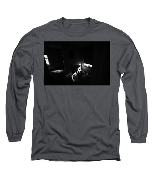The Bathroom Long Sleeve T-Shirt