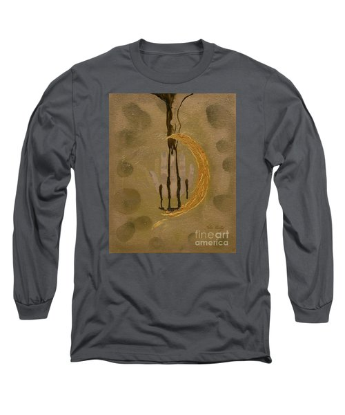 The Battle Of Religons And Wars 4 Liquid Gold Long Sleeve T-Shirt by Talisa Hartley
