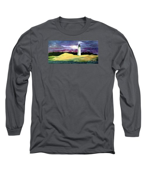 Long Sleeve T-Shirt featuring the painting The Beacon by Patricia Griffin Brett