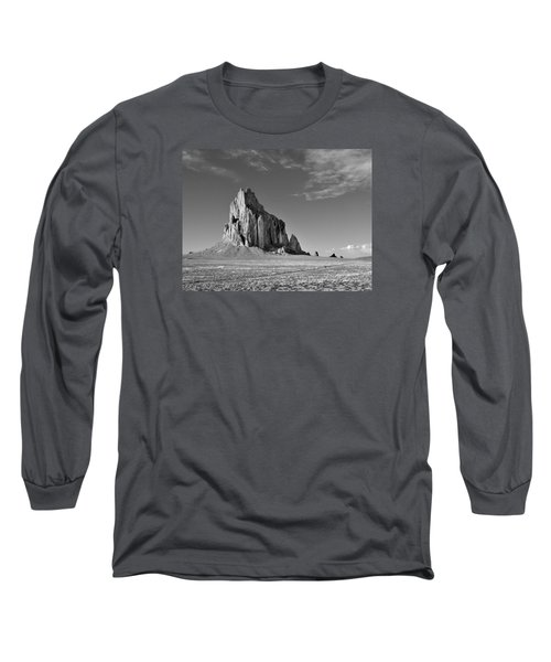The Beauty Of Shiprock Long Sleeve T-Shirt
