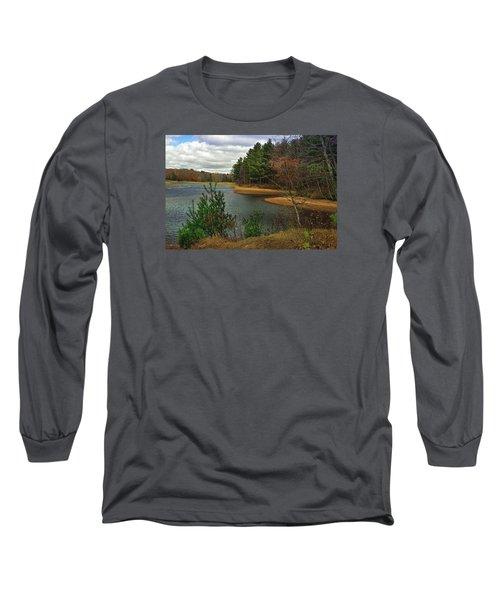Long Sleeve T-Shirt featuring the photograph The Big Eau Plein by Judy  Johnson