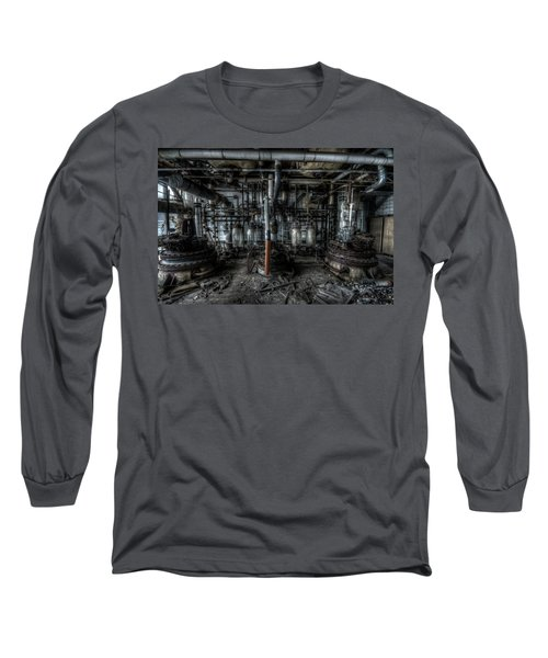 The Big Experiment  Long Sleeve T-Shirt by Nathan Wright