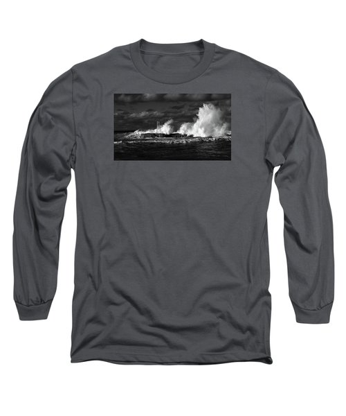 Long Sleeve T-Shirt featuring the photograph The Big One by Nareeta Martin