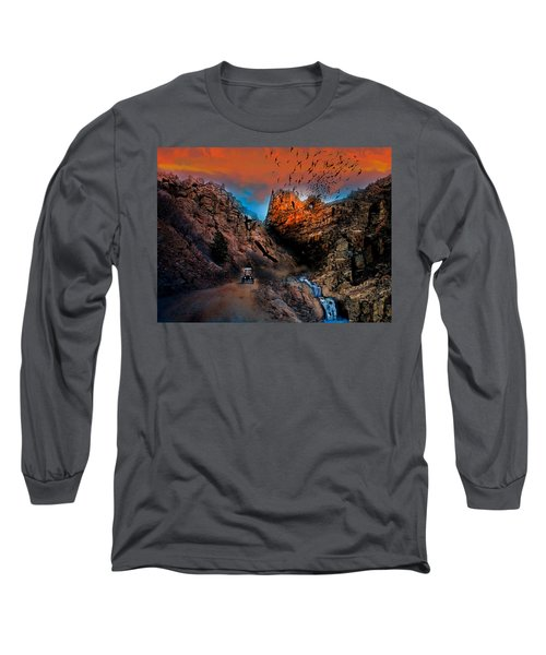 The Birds Of Window Rock Long Sleeve T-Shirt by J Griff Griffin