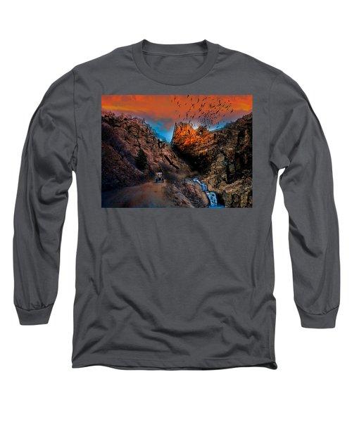 The Birds Of Window Rock Long Sleeve T-Shirt