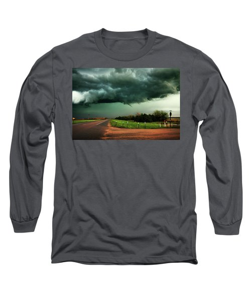 The Birth Of A Funnel Cloud Long Sleeve T-Shirt