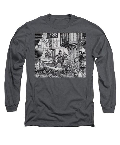 The Black Death Long Sleeve T-Shirt