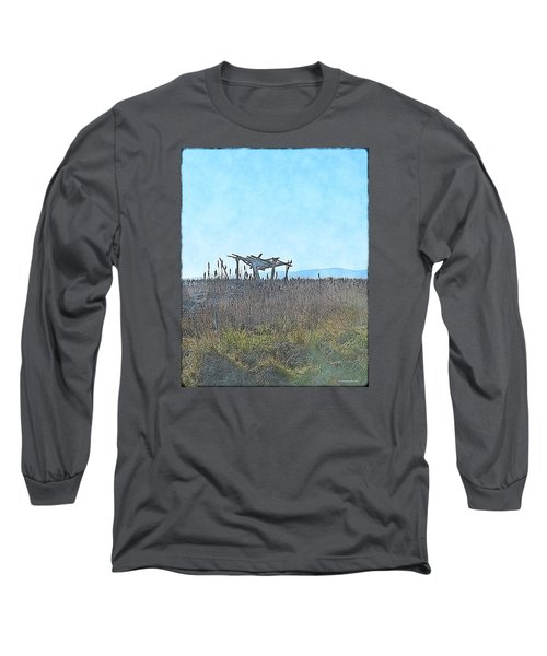 The Blind Long Sleeve T-Shirt by Tobeimean Peter