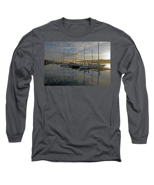 The Blue And Beyond Long Sleeve T-Shirt by Suzy Piatt
