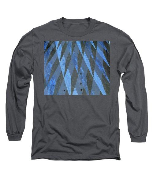 The Blue Dimension Long Sleeve T-Shirt