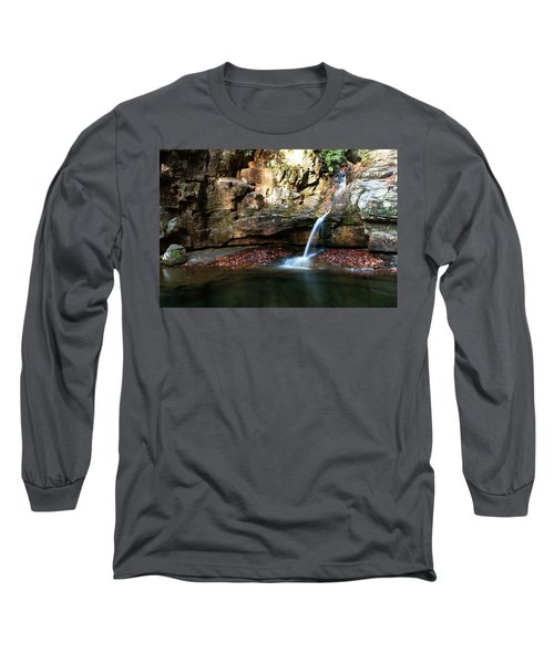 The Blue Hole In November #2 Long Sleeve T-Shirt by Jeff Severson