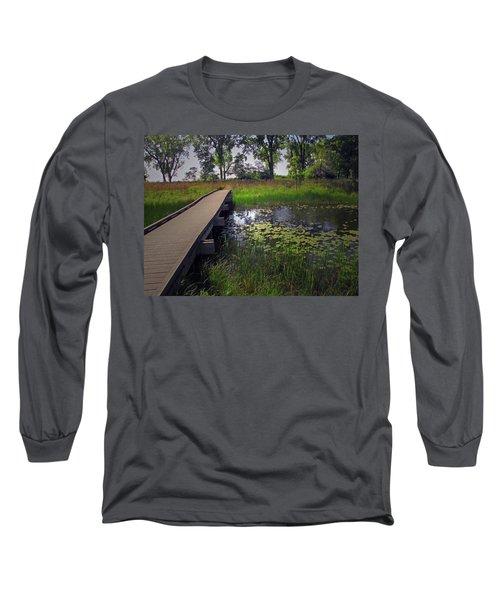 The Boardwalk Long Sleeve T-Shirt by Cedric Hampton