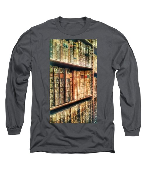 The Bookcase Long Sleeve T-Shirt by Isabella F Abbie Shores FRSA