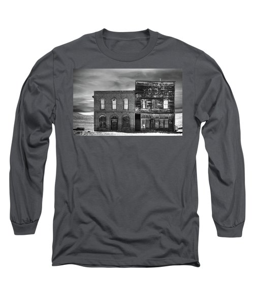 The Boot Building Long Sleeve T-Shirt