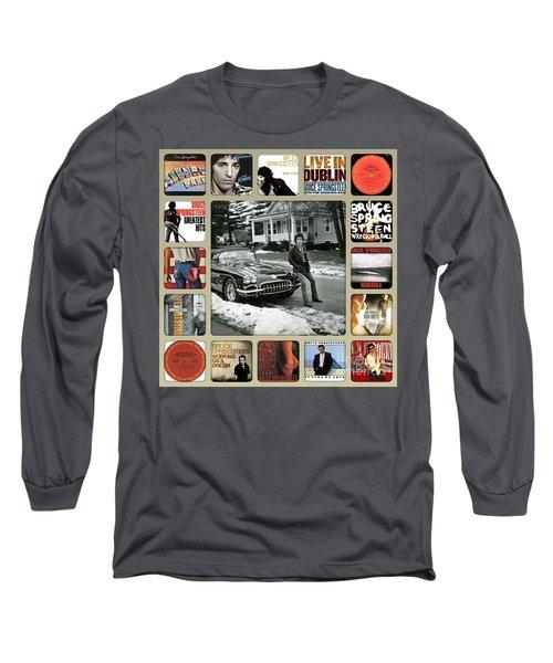 The Boss Mr Bruce Springsteen Long Sleeve T-Shirt