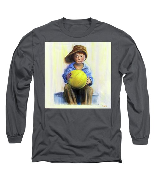 The Boy With The Ball Long Sleeve T-Shirt