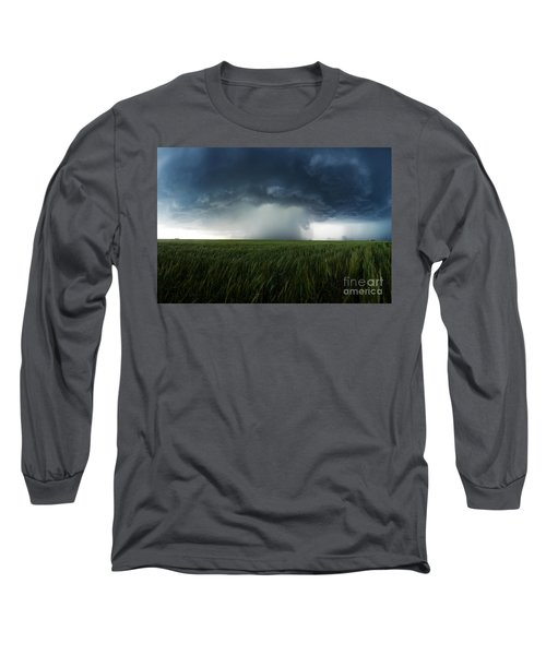 The Breath Before The Plunge Long Sleeve T-Shirt