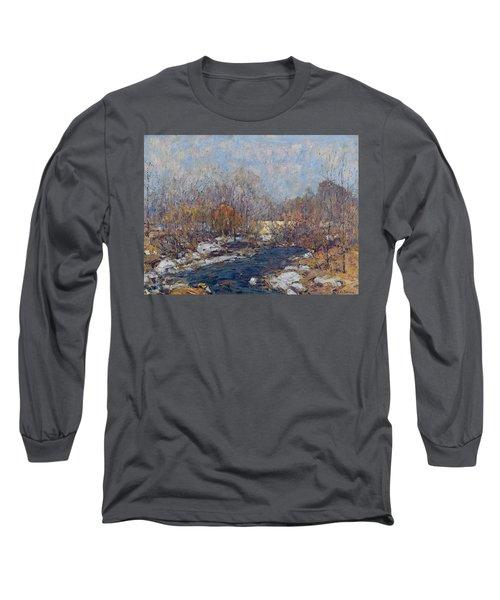 The Bridge  Garfield Park  By William J  Forsyth Long Sleeve T-Shirt